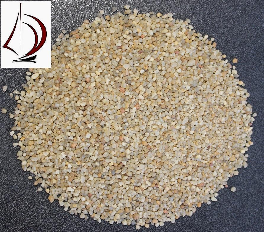 Кварцевый песок фракция 0,8-1,2 мм в мкр
