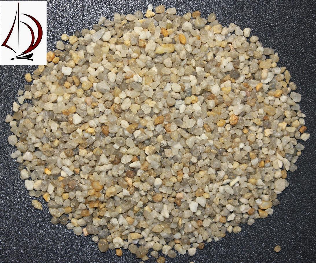 Кварцевый песок фракция 2,5-5,0 мм в мкр